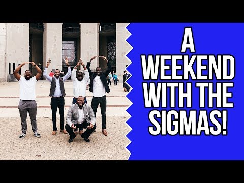 A WEEKEND WITH THE SIGMAS IN OHIO! ! | COREY JONES