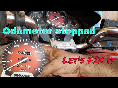 How To Fix An Odometer That Don't Work.