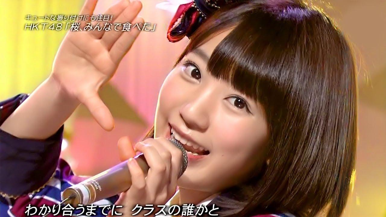 【Full HD】 HKT48 桜、みんなで食べた (2014.03.15.)