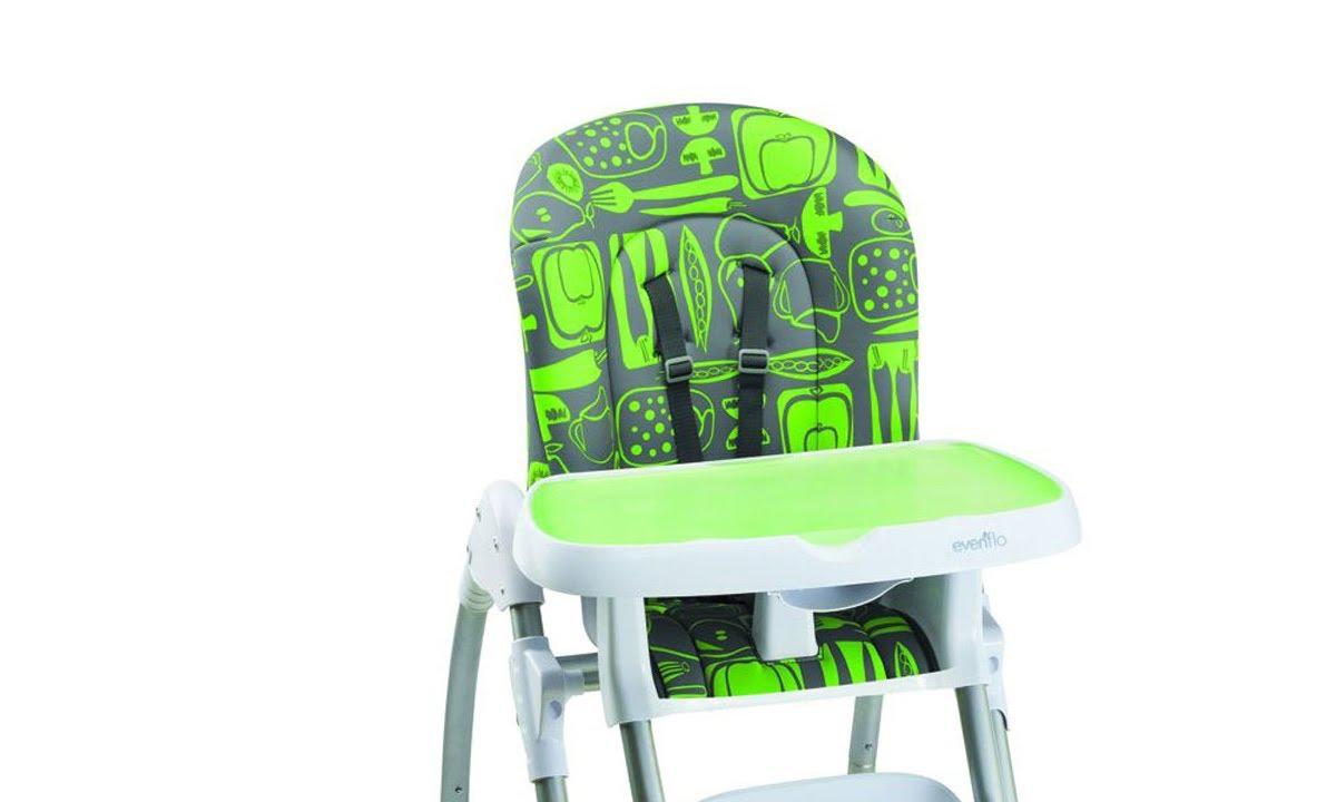 Evenflo majestic high chair - Cadeira Para Refei O Evenflo 200 Apple Green