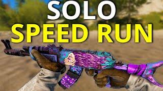 INSANE SOLO RUST SPEED RUN - Rust Solo Survival Movie