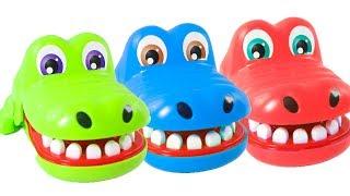🐊 COCODRILO SACAMUELAS 🐊 Aprende los colores con nuestro amigo el Cocodrilo y Play Doh de colores thumbnail