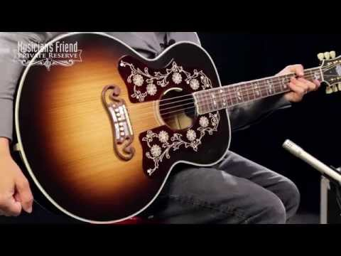 Gibson Bob Dylan SJ-200 Player's Edition Acoustic-Electric Guitar