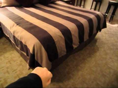 Flight Attendant Checks Safety Of Hotel Room - YT