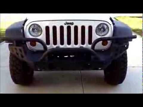 Aries Automotive Front Modular Bumper Install   2013 Jeep Wrangler Rubicon  10th Anniversary