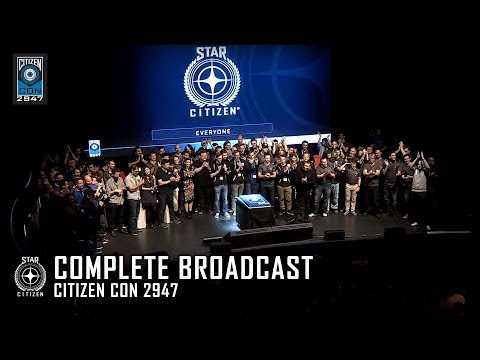 STAR CITIZEN: CitizenCon 2947 - Complete Broadcast