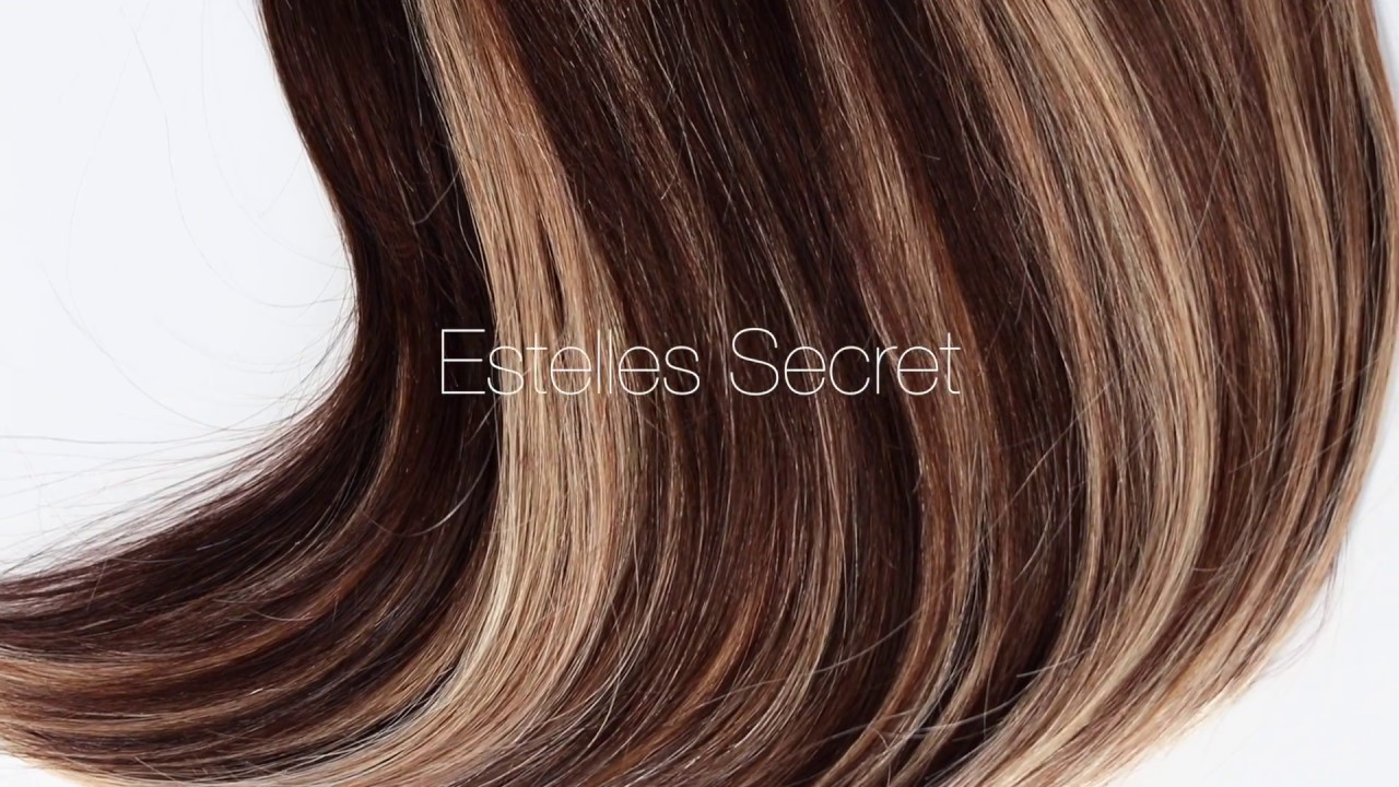 New Hair Extensions Color Mixed Brown Marthas Mix 218 Youtube