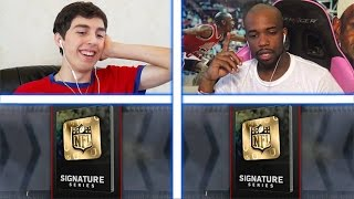 SIGNATURE GUESS WHO VS CASHNASTYGAMING! MADDEN 17 PACK WAGER