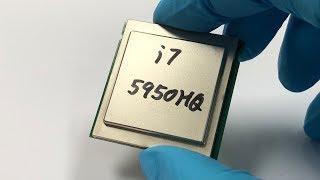 MAGIC REFORM Intel Mobile CPU i7 5950HQ beats i7 6700K 4790K 4770K