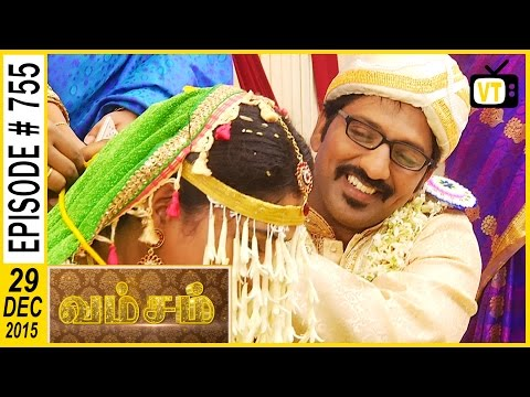 Sollaiamma has taken the thali  from thambulam  , Sollaiamma calls Madhan and blackmail him 3:15 Finally Madhan married her wife Bhoomika instead of Radha unknowingly 10:52 Madhan and Bhoomika are playing traditional games in their marriage 14:43 Ponnurangam got admitted in hospital 17:28  Cast: Ramya Krishnan, Sai Kiran, Vijayakumar, Seema, Vadivukkarasi For more updates,  Subscribe us on:  https://www.youtube.com/user/VisionTi... Like Us on:  https://www.facebook.com/visiontimeindia