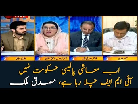 IMF is making the country's economic policy, not the government: Mussadiq Malik