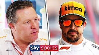 How will McLaren cope without Alonso?   High Tea with Zak Brown