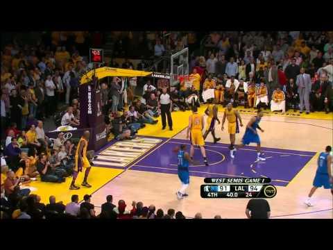 Dirk Nowitzki Highlights vs Lakers 2011 NBA playoffs CSF GM1