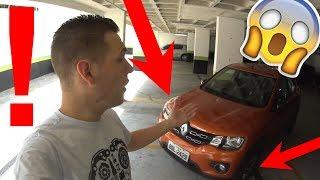 Teste Renault Kwid - Problemas nos freios e batida no Latin NCAP