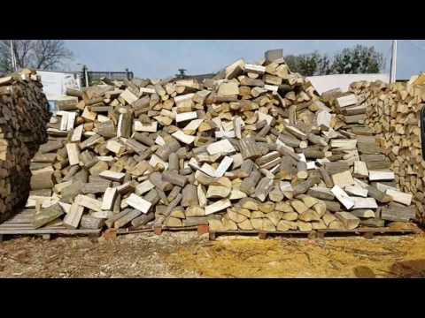 Produkcja drewna kominkowego