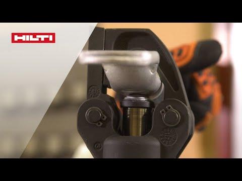 Испытания качества обжима силовых проводников инструментом Hilti NCR 60-A