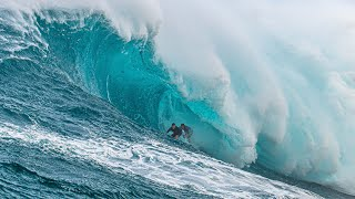 TOWING JAWS WITH KAI LENNY, WE GOT A DOUBLE BARREL! SURFING STARTS AT 17:32!