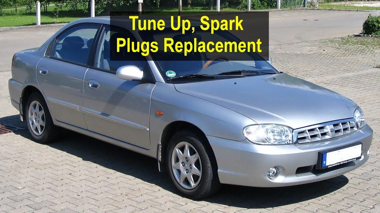 medium resolution of tune up spark plug replacement kia sephia 1997 2003 votd
