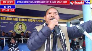 GRAND OPENING  OF  FIRST EVER ABO DALI SINGHI FOOTBALL TROPHY KICKS AT SEPPA