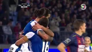 Golo de Sérgio Oliveira: Chaves 0-(4) FC Porto (Liga 22ªJ)