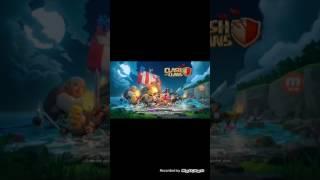 Mostrando minha vila no clash of clans e jogando UFB 2