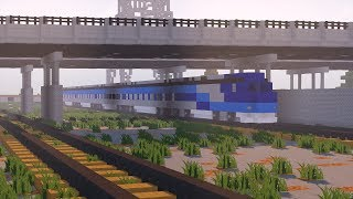 Minecraft | Tuto Faire Un Train Réaliste !