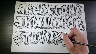 Download Video Graffiti Alphabet 2 | Speed Art MP3 3GP MP4