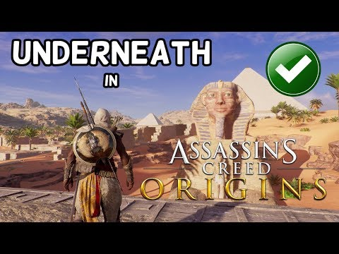 How to get UNDERNEATH the Sphinx in Assassin's Creed Origins