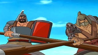 SPARTACUS | Tod für die Besiegten Bär | Full Episode 4 | Cartoon TV-Serie | Englisch