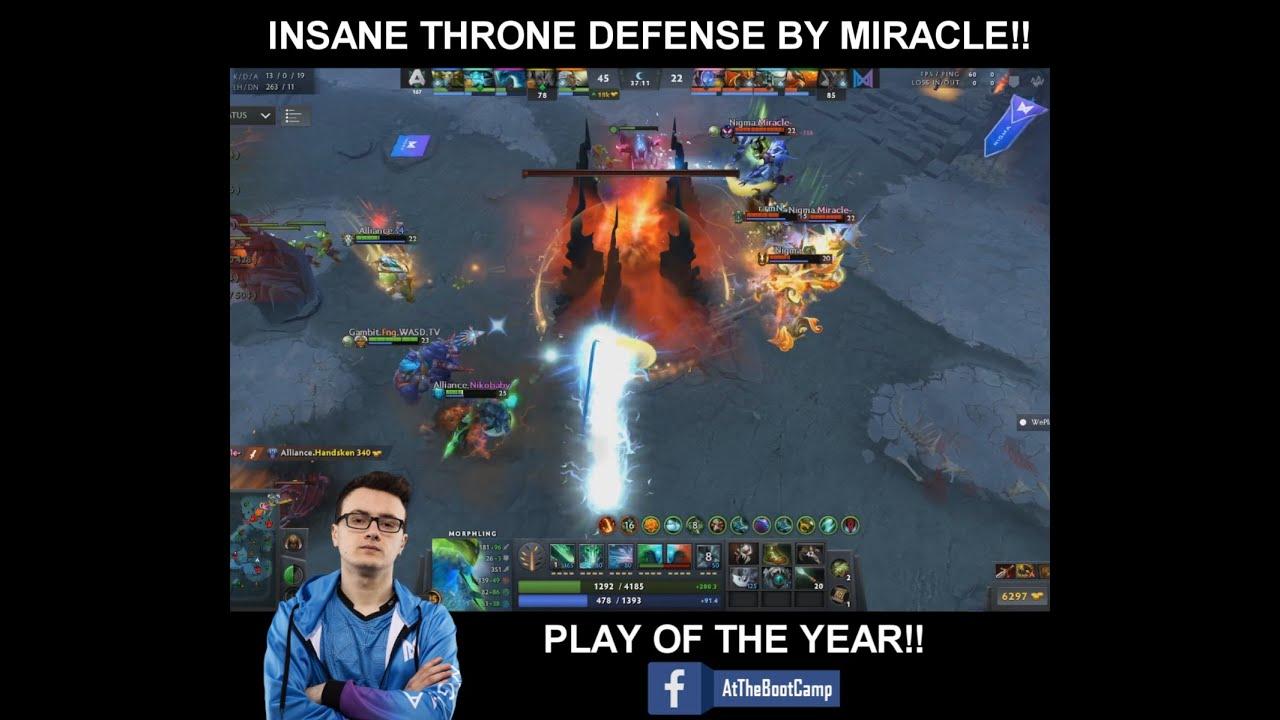 Miracle insane ancient defense!!