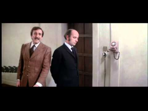 Pink Panther Strikes Again - Peter Sellers - Clouseau on the parallel bars