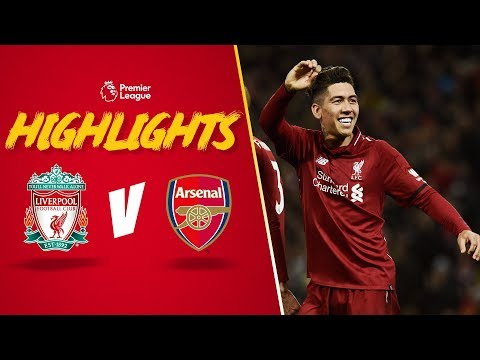 Firmino scores 'no look' goal | Liverpool 5-1 Arsenal | Highlights