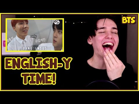 NAMJOON BEING DONE WITH BTS' ENGLISH (CRACK) REACTION [OHMUH