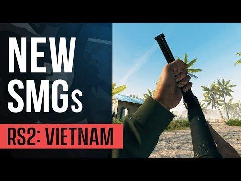 NEW SMGs | Rising Storm 2: Vietnam (Bushranger Update) Gameplay