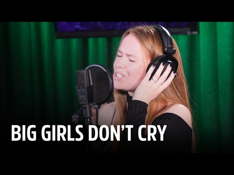 Isabel Provoost - Big Girls Don't Cry   Live bij Evers Staat Op