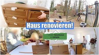 Haus einrichten 🏡 Neue Möbel ziehen ein & Sicherheit durch Torantrieb | Isabeau