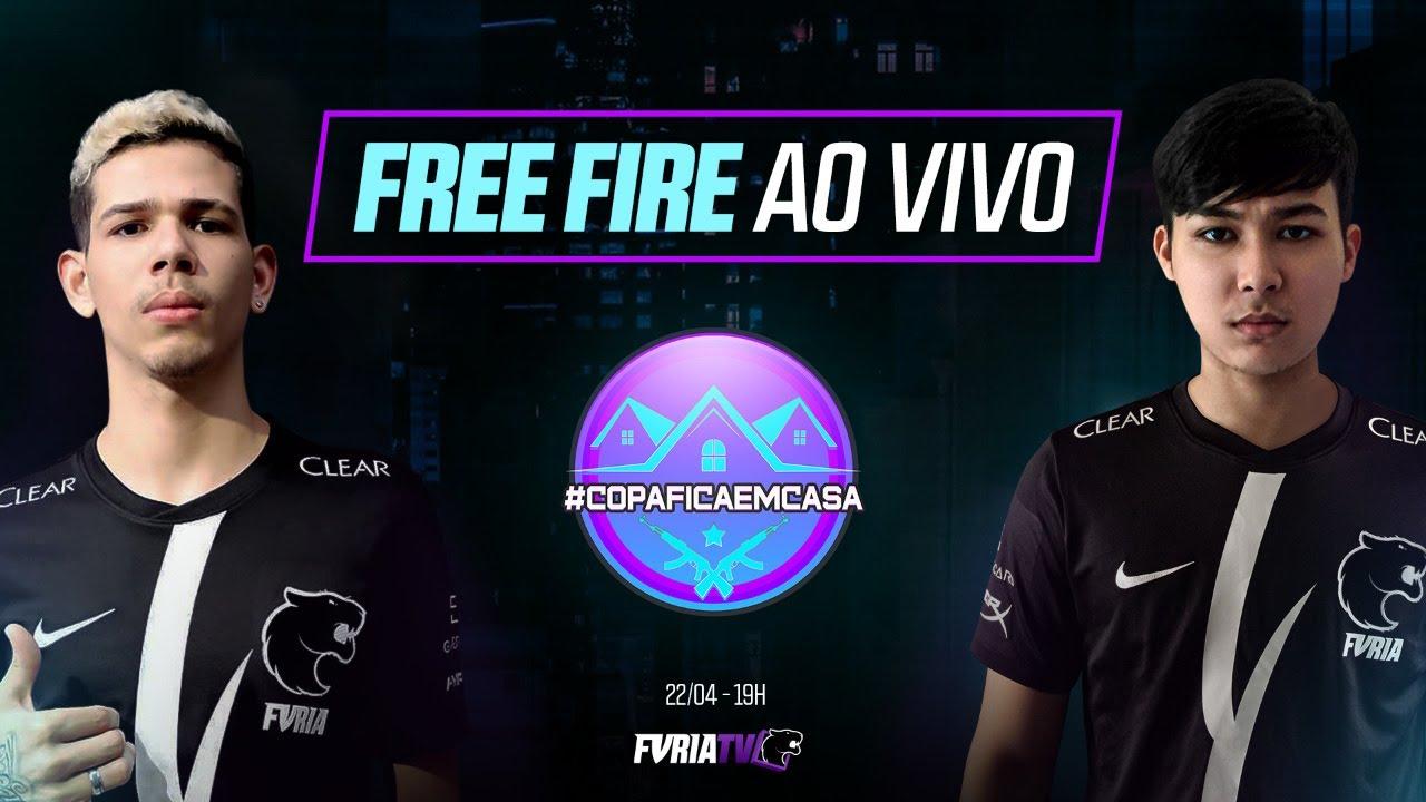 FREE FIRE AO VIVO - FURIA vs Black Dragons e INTZ #CopaFicaEmCasa