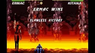 SNES Longplay [355] Ultimate Mortal Kombat 3