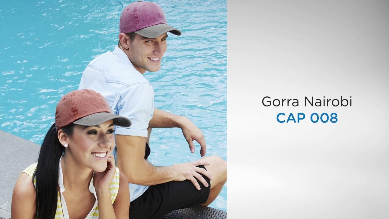 CAP 008    Gorra Nairobi - YouTube c2e6edbd1c2