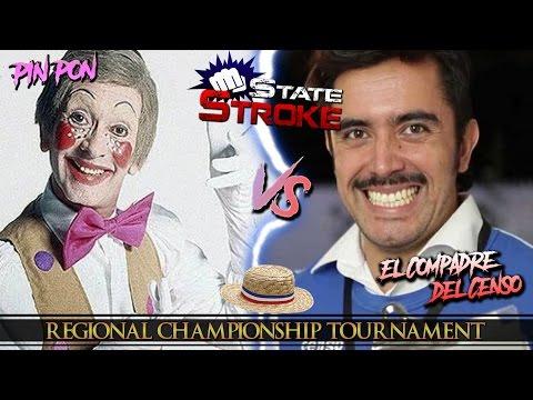 [State Stroke 06] Pin Pon vs. El Censista - Regional Championship Tournament