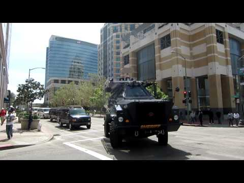 alameda county sheriff department attacking protestors