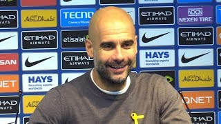 Manchester City 2-1 West Ham - Pep Guardiola Post Match Press Conference - Premier League #MCIWHU