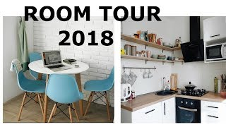 РУМ ТУР | БЕЛАЯ КУХНЯ | Квартира После Ремонта | Room Tour 2018