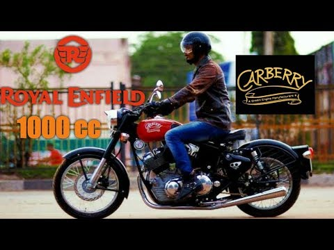 Carberry launches India made 1000cc V-Twin engines for Royal Enfield