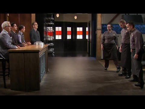 "Joey Fanelli (far right) won the Dec. 6 episode of Food Network's ""Chopped."""