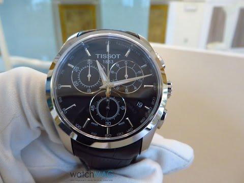 Наручные часы Tissot Couturier Quartz Chronograph