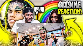 6IX9INE - PUNANI (OFFICAL MUSIC VIDEO) REACTION !