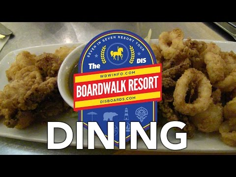 7 in 7: Dining at Boardwalk