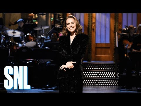 Natalie Portman Announcer Monologue  SNL