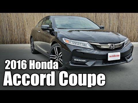 2016 Honda Accord Coupe Review - Quick Take